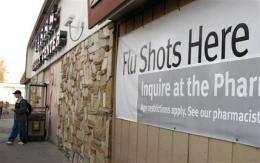 Nasal spray flu vaccine becoming available (AP)
