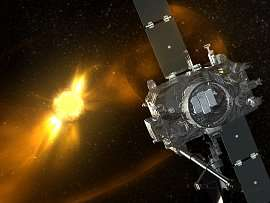 NASA Sees the 'Dark Side' of the Sun
