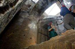 Nero's rotating banquet hall unveiled in Rome (AP)