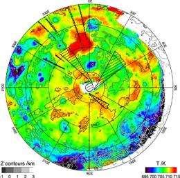 New map hints at Venus's wet, volcanic past