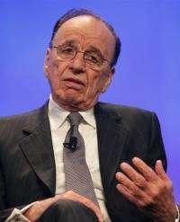 News Corporation founder Rupert Murdoch
