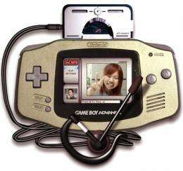 """Nintendo's portable game console """"Game Boy Advance"""" (released in 2003)"""
