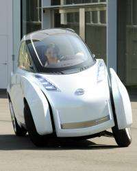 "Nissan's new concept vehicle, the ""Land Glider"""