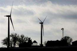 Not so windy: Research suggests winds dying down (AP)