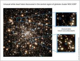 Oddball stars discovered in new Hubble images