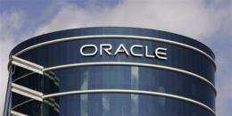 Oracle shares slip after 1Q revenue disappoints (AP)