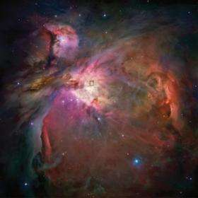 Orion-KL Region in the Orion Nebula