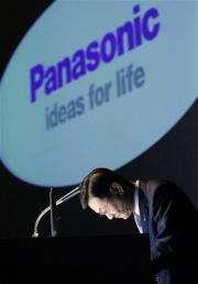 Panasonic slumps to $4 billion yearly loss (AP)