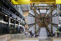 Particle collider: Black hole or crucial machine? (AP)