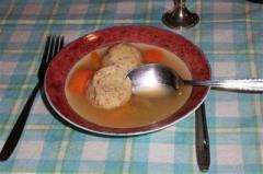 Passover's matzoh ball soup may be good for your health