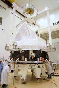 Planck satellite fuels up