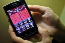 Review: New BlackBerry Storm improves on original (AP)