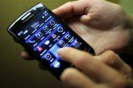 RIM 3Q profit up 59 pct, record BlackBerry sales (AP)