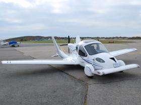 Road-worthy plane? Or sky-worthy car?