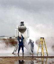 Rockets vie in simulated lunar landing contest (AP)