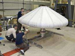 Rocket to Launch Inflatable Re-entry Capsule
