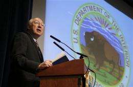 Salazar reviews 'midnight' endangered species rule (AP)