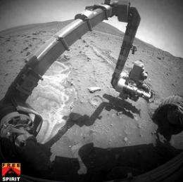 Sandtrapped Rover Makes a Big Discovery