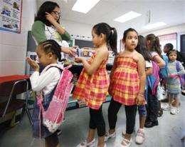 Schools gear up for swine flu shots