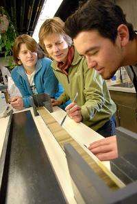 Scientist uses sedimentary record to uncover planet's past