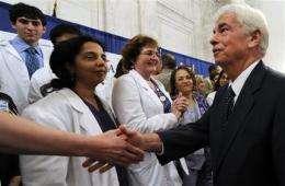 Senators dig in on massive health care legislation (AP)