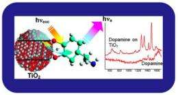 SERS of Semiconducting Hybrid Nanoparticles