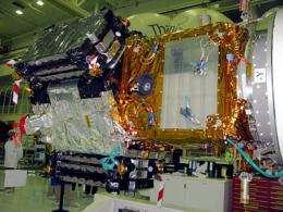 SMOS satellite