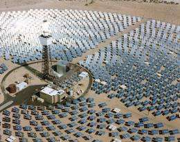 Solar power generation around the clock