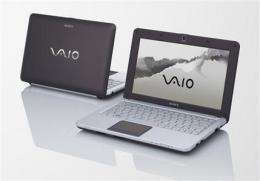Sony belatedly to join `netbook' market in August (AP)