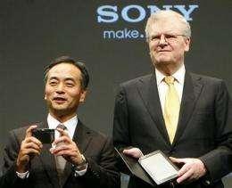 Sony optimistic on 3-D TVs, in-house display (AP)