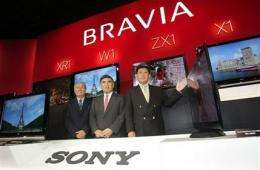 Sony reports $1 bln annual loss, first in 14 years (AP)