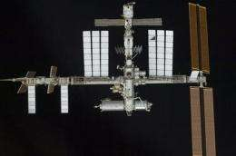 Space junk threat worried space station (AP)
