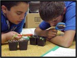 Students learn environmental stewardship, improve science scores