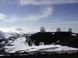 Subaru Telescope -- Outdoor View
