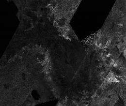 Surface features on Titan form like Earth's, but with a frigid twist