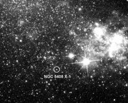 Swift, XMM-Newton satellites tune into a middleweight black hole