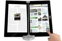 The Asus New Folding E-Book Reader
