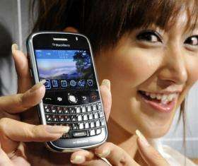 The BlackBerry Bold was launched in Japan at the start of 2009