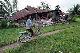 The fault line where this happened runs parallel to Sumatra and is called the Sunda Trench