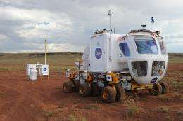 The Lunar Electric Rover with the Portable Utility Pallet