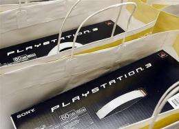 The new Sony Playstation 3 (PS3) are packed and ready to go on sale after midnight in 2007 at the Sony Center in Berlin