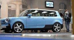 """The new """"Trabant nT"""" electric car"""