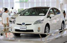 "Third-generation ""Prius"" of Japanese auto giant Toyota Motor"