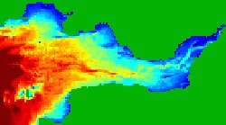 Tidal energy farms influence the natural transport of sands