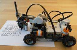 Toy Robot to Solve Sudoku