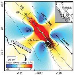 Tremors on southern San Andreas Fault may mean increased quake risk