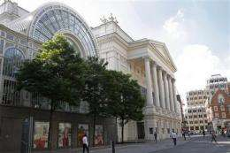 UK's Royal Opera House to perform 'Twitter' opera (AP)