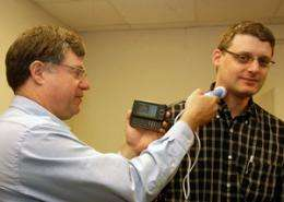 Ultrasound imaging now possible with a smartphone