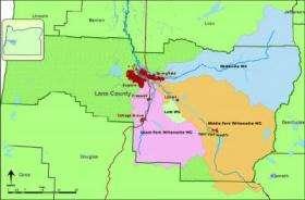 Upper Willamette River Basin, Oregon