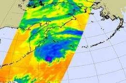 Vamco's gusty remnants cause high wind warnings in Alaska's Aleutian Islands